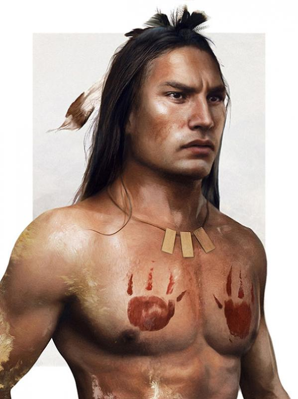 Kwikku, Kocoum  Pocahontas