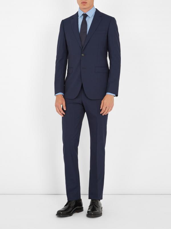 Kwikku, Navy Suit from Lanvin