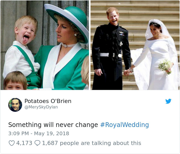Kwikku, Pangeran Harry memang tengil sedari kecil ya