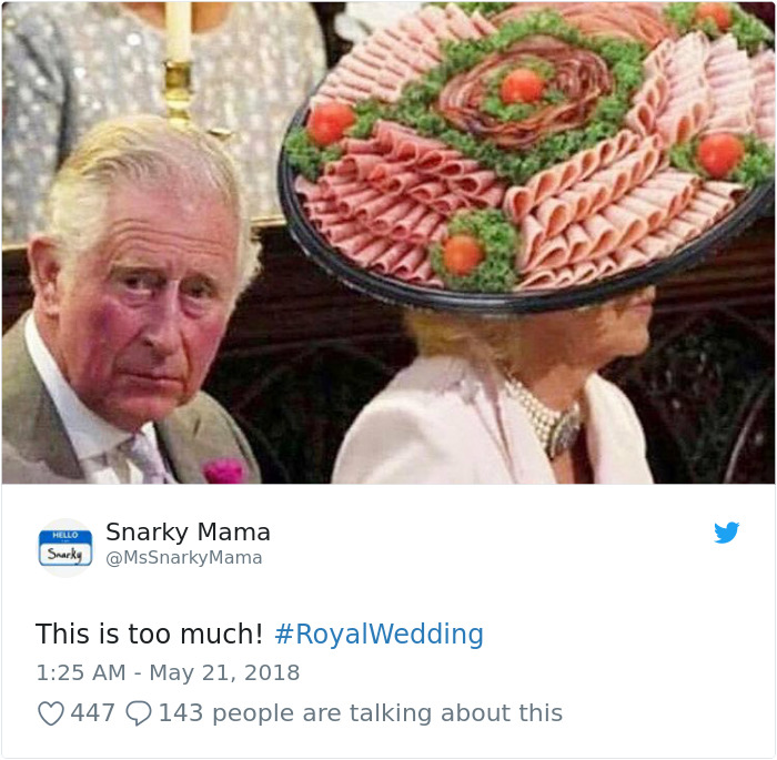 Kwikku, Camilla jadi seksi konsumsi guys di Royal Wedding