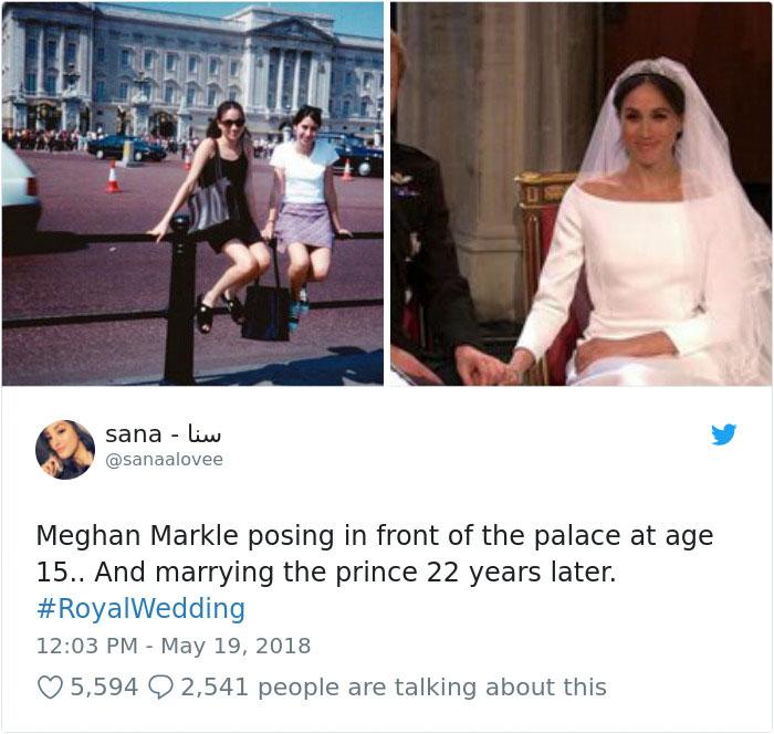 Kwikku, Dulunya cuma bisa foto di depan istana Nggak tahunya sekarang nikah sama cucunya yang punya istana Life is secret guys