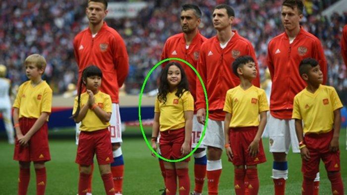 Kwikku, Raina beraksi pembukaan Piala Dunia