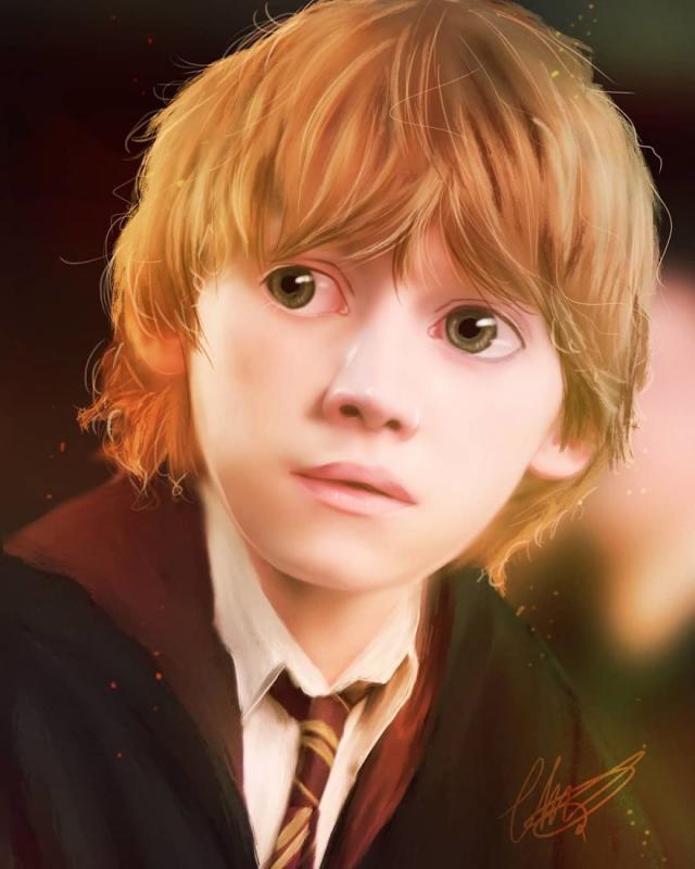 Kwikku, Ron Weasley