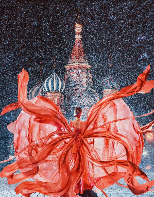 Kwikku, Red Square Moscow St Basil Cathedral