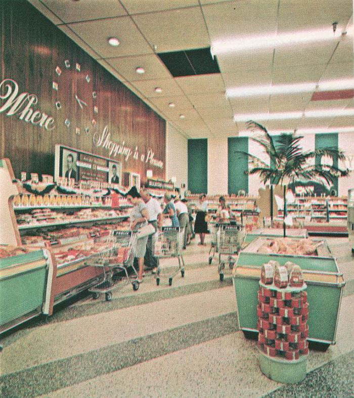 Kwikku, Sebuah supermarket di tahun an