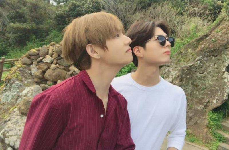 Kwikku, Park Bo Gum dan V