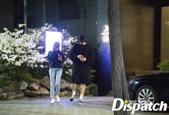 Kwikku, Media Dispatch telah merilis foto keduanya saat tengah berkencan malam hari di Hannamdong
