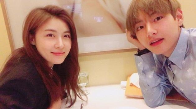 Kwikku, Ha Ji Won dan V BTS