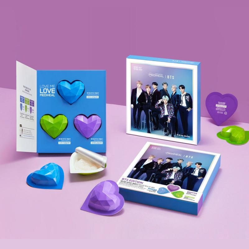 Kwikku, Mediheal  Bio Capsulin Love Me Mask Set BTS Edition