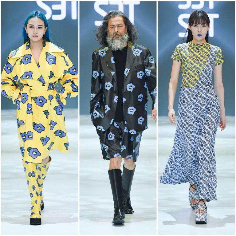Kwikku, Setsetset menocba pamerkan gaya out of box dan menghadirkan model senior Kim Chil Du