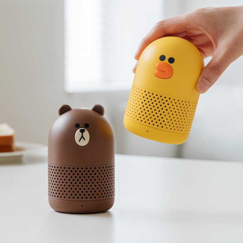 Kwikku, Bluetooth speaker Line Friends