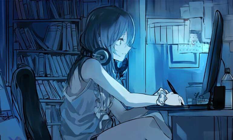 Kwikku, Di anime banyak anak SMA tinggal sendirian Di dunia nyata
