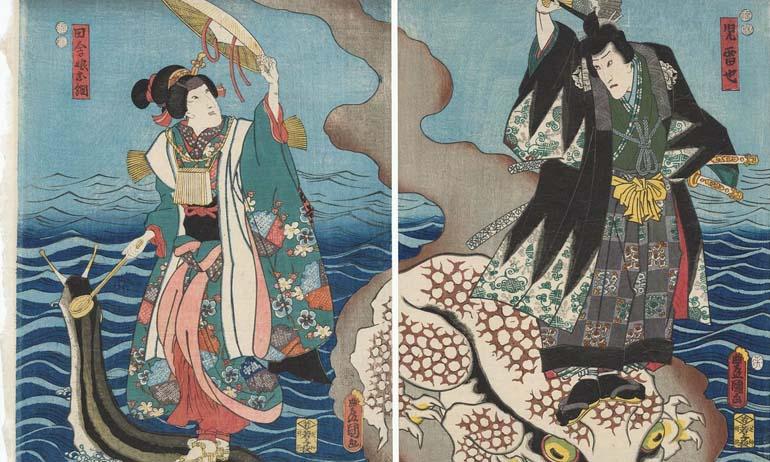 Kwikku, Nama Tsunade berasal dari cerita rakyat Jepang
