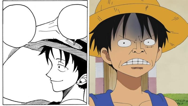 Kwikku, Karakter Luffy