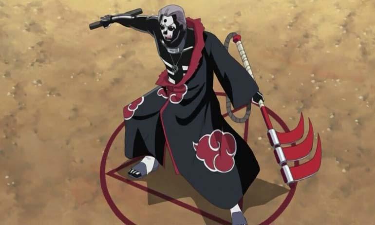 Kwikku, Hidan adalah pemuja Dewa Jashin