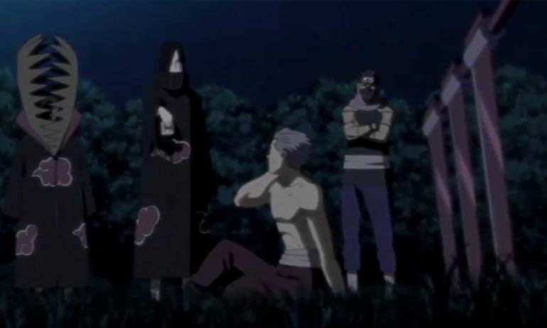 Kwikku, Hidan diajak Kakuzu dan Orochimaru masuk Akatsuki
