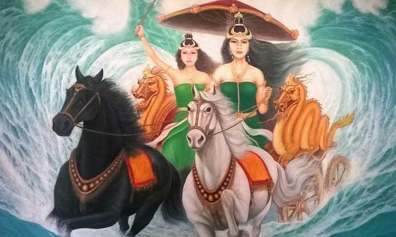 Kwikku, Kanjeng Ratu Kidul dan Nyi Roro Kidul