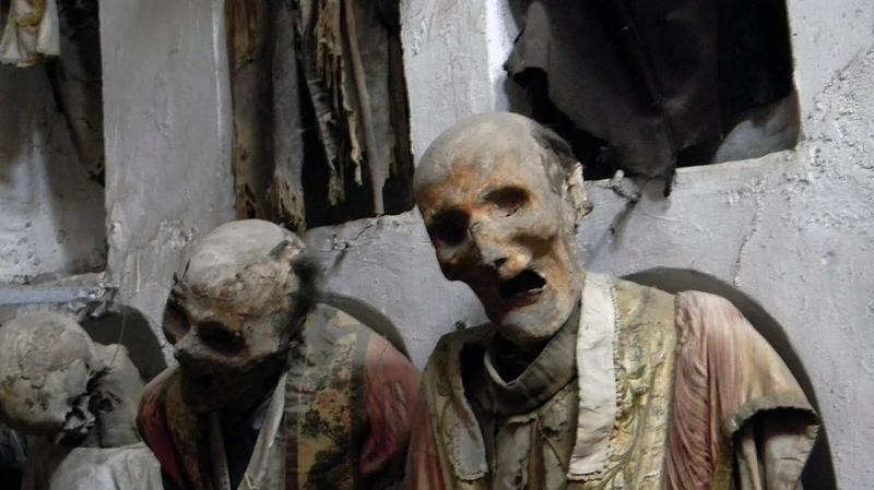 Kwikku, The Capuchin Catacombs of Palermo