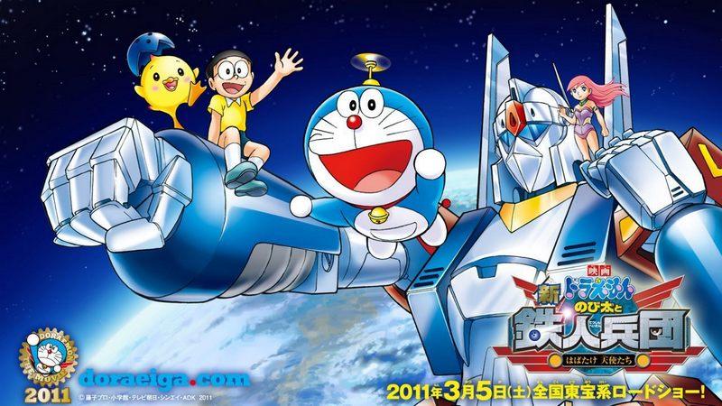 Kwikku, Doraemon Nobita and The New Steel Troops