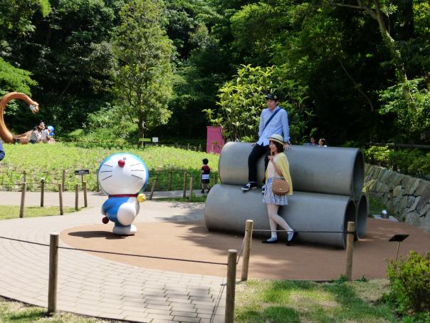 Kwikku, Ini Replika Pipa di Museum Doraemon