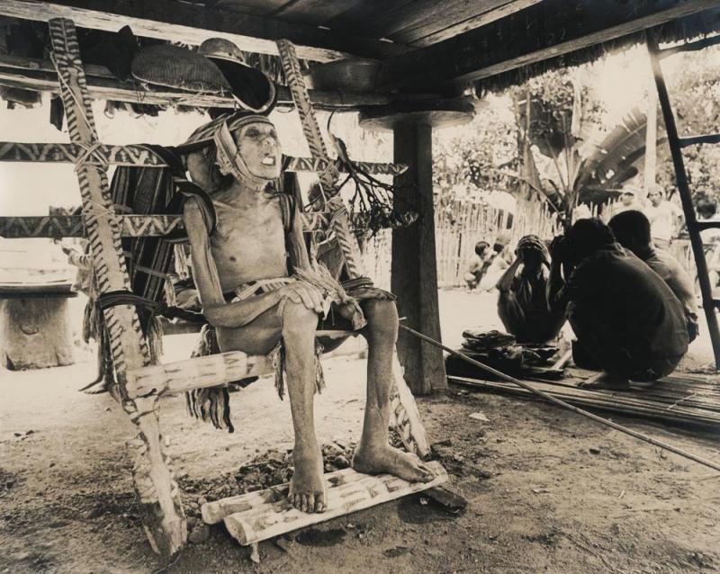 Kwikku, Ritual Kursi Kematian Ifugao Filipina