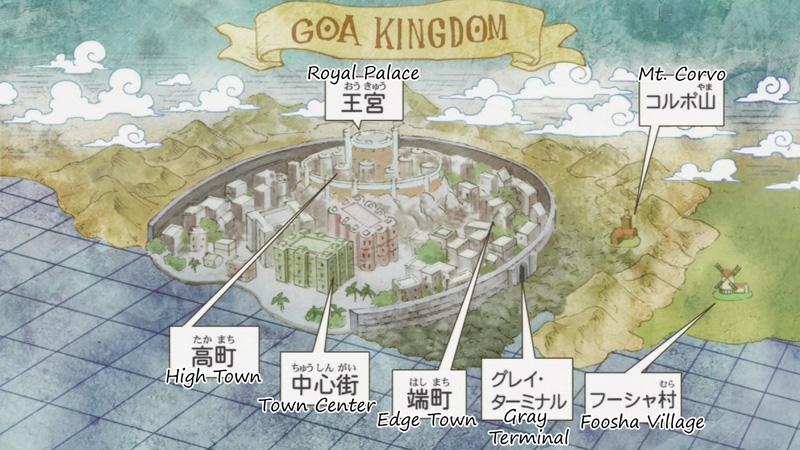 Kwikku, Pulau Pertama yang Diperlihatkan di One Piece
