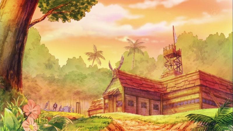 Kwikku, Tempat Tinggal Luffy dan Lainnya di Pulau Dawn