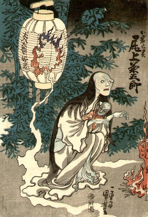 Kwikku, Awal Kisah Tokaido Yotsuya Kaidan