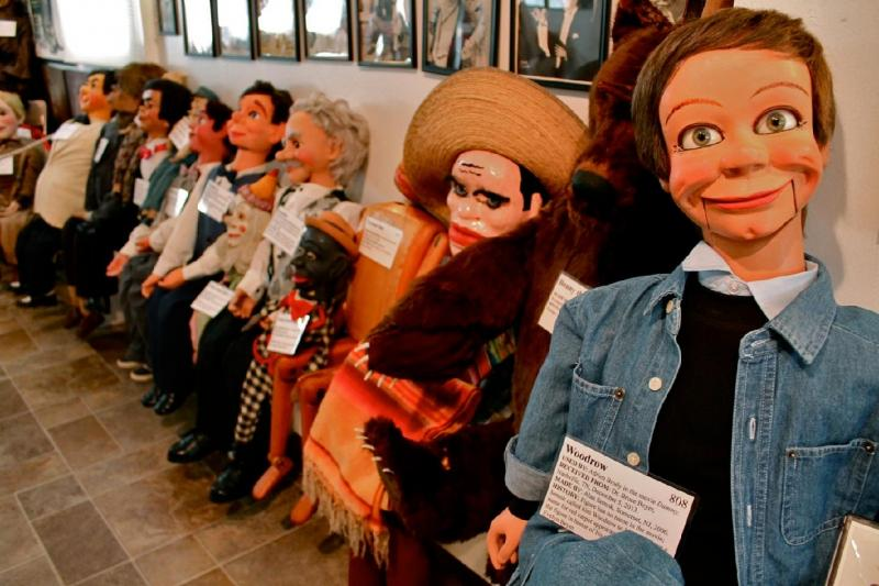 Kwikku, The Vent Haven Ventriloquist MuseumFort Mitchell Kentucky Amerika Serikat