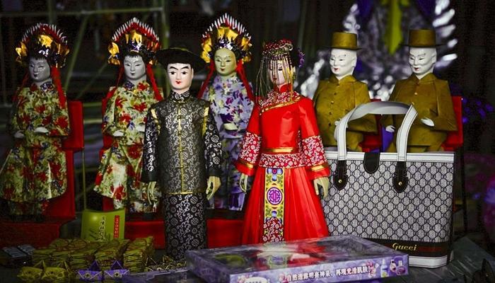 Kwikku, Sejarah dari Tradisi Pernikahan Mayat di China