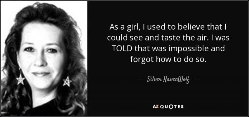 Kwikku, Silver Ravenwolf