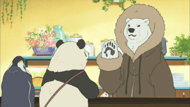Kwikku, Shirokuma Cafe