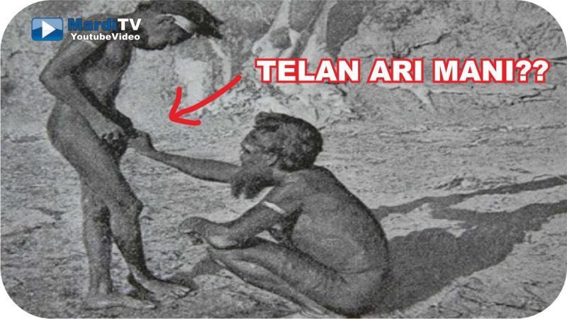 Kwikku, Suku Sambian dengan Tradisinya Meminum Air Mani