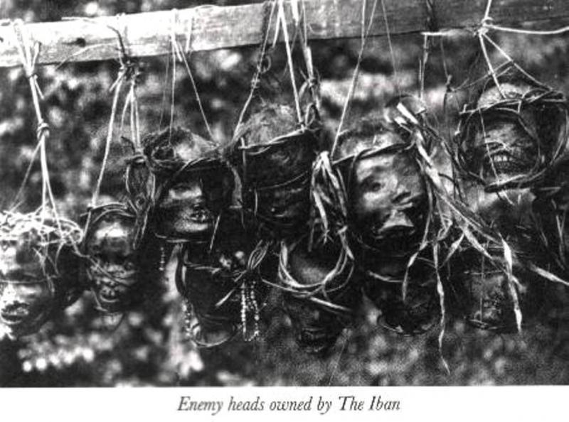 Kwikku, Suku Dayak Laut  Borneo