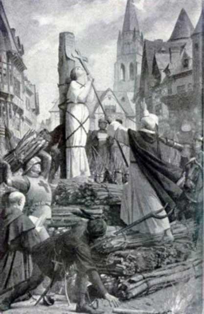 Kwikku, Dibakar HidupHidup di Romawi Kuno