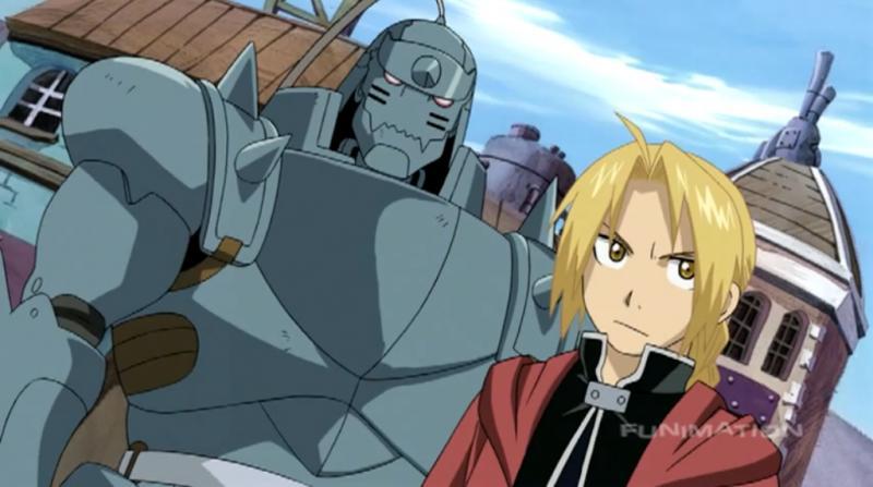 Kwikku, Alphonse dan Edward Elric