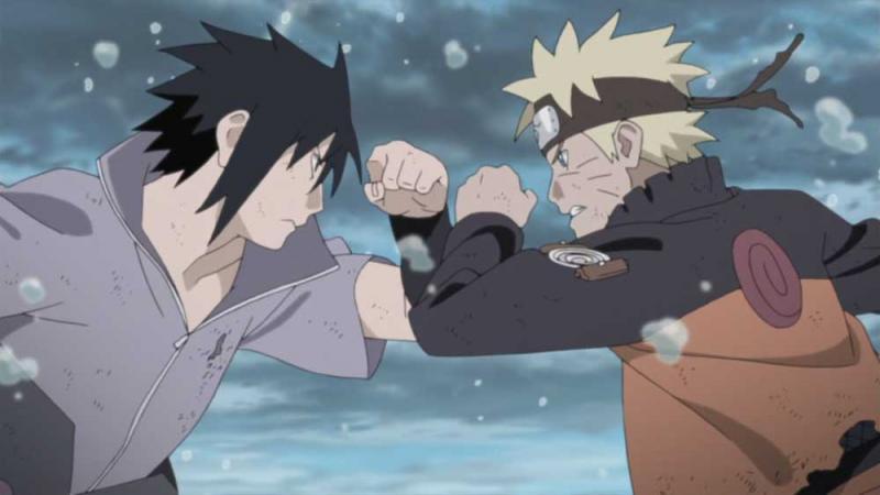 Kwikku, Naruto dan Sasuke