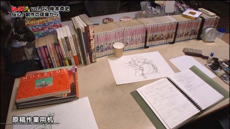 Kwikku, Ini Meja Kerja Siapa ya Coba Tebak dari Sebuah Sketsa di Meja dan Deretan Komik Tersebut