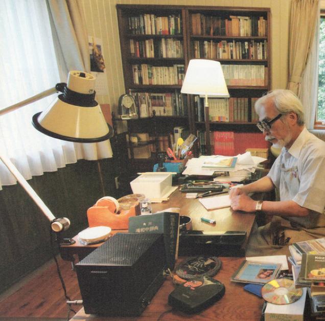 Kwikku, Ini Salah Satu Ruang Kerja Hayao Miyazaki Rapi Banget ya