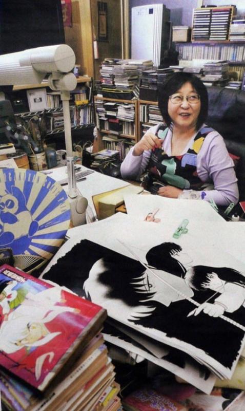 Kwikku, Tempat Kerja Rumiko Takahashi yang Berantakan