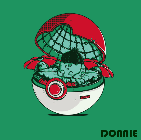 Kwikku, Pokeball Bulbasaur