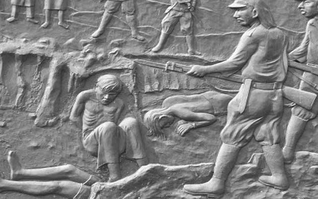 Kwikku, Pembantaian di Mandor oleh Tentara Jepang Tahun