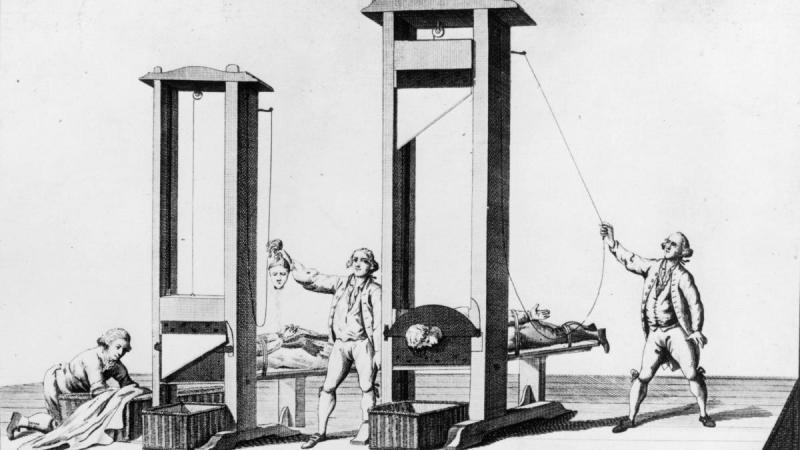 Kwikku, Guillotine dianggap sebagai alat eksekusi mati paling manusiawi
