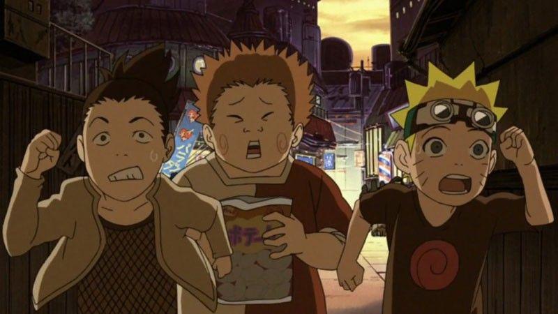 Kwikku, Shikamaru Menjadi Teman Pertama Naruto Bersama Chouji