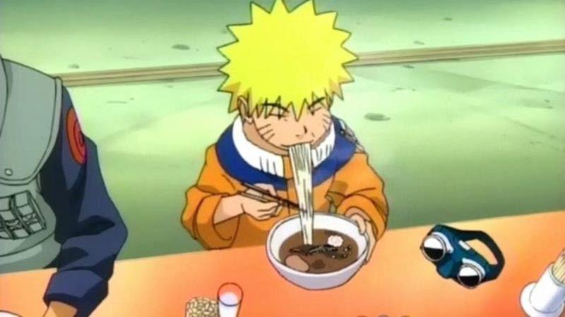 Kwikku, Ramen  Naruto