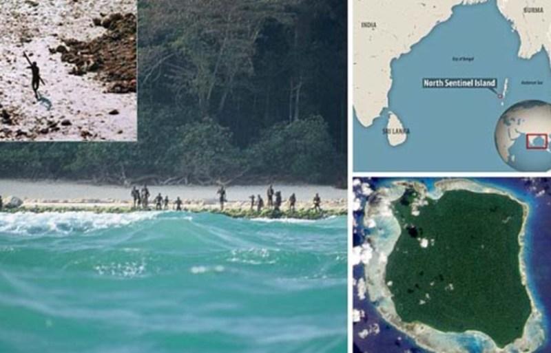 Kwikku, Sentinel Tinggal di Pulau Terpencil yang Jauh dari Peradaban