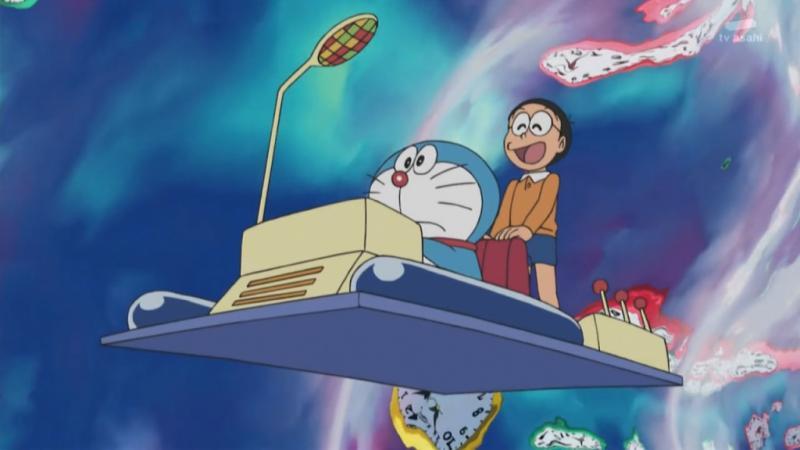 Kwikku, Mesin Ruang Waktu Doraemon