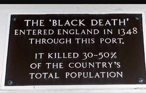 Kwikku, Kuburan Massal Penderita Black Death