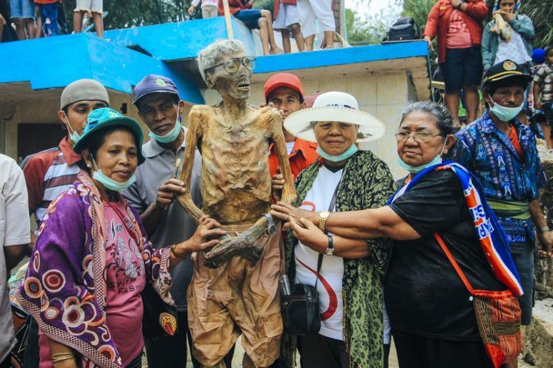 Kwikku, Mayat Berjalan di Tana Toraja