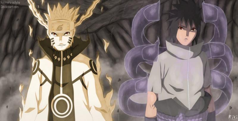Kwikku, Naruto Uzumaki dan Sasuke Uchiha